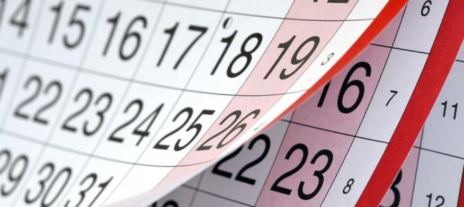 ZH naptár